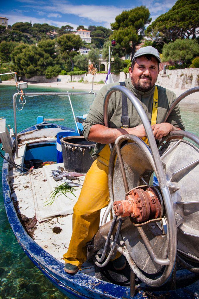 Pêcheur à Antibes Juan-les-Pins